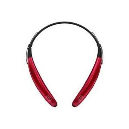LG HBS-770 AGSARD LG TONE PRO BLUETOOTH WIRELESS STEREO HEADSET RED