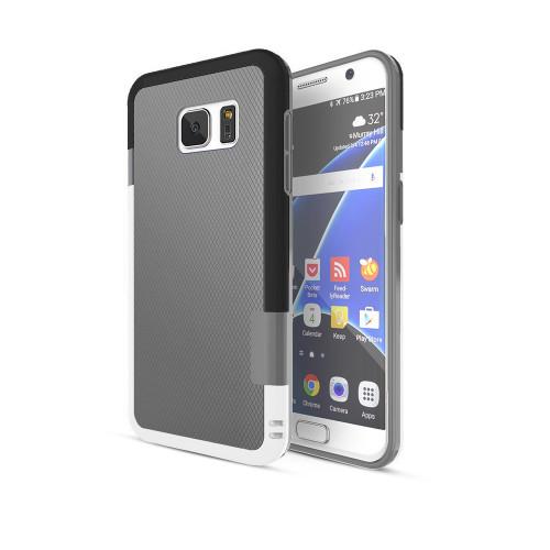 stylish tpu case for iphone 6 gray-black-white