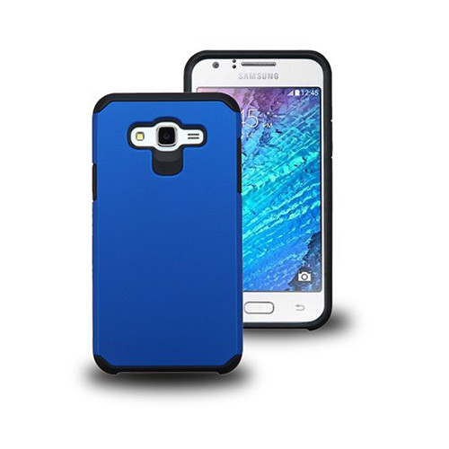 thin shell hybrid case for samsung galaxy note 4 blue-black