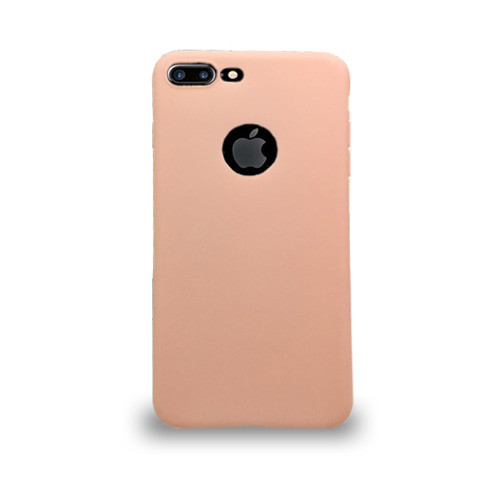Jelly Skin Case for Iphone 7/8 Plus  Pink