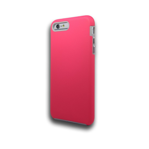 Rush hybrid case  for iphone 7/8 plus hot pink-gray