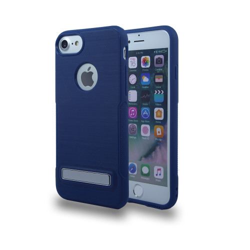 Noskid Skin Case with Kickstand For Samsung Grand Prime G530 and J2 Prime  Navy
