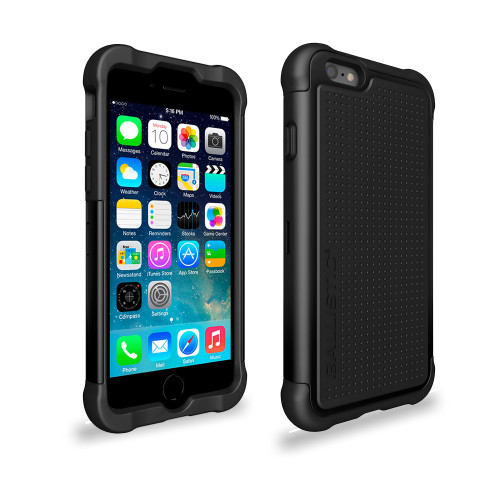 Ballistic Tough Jacket Hybrid Case for iPhone 6 Plus | 6S Plus Black