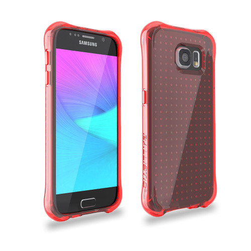 Ballistic Jewel Series TPU Case for Samsung Galaxy S6 Red