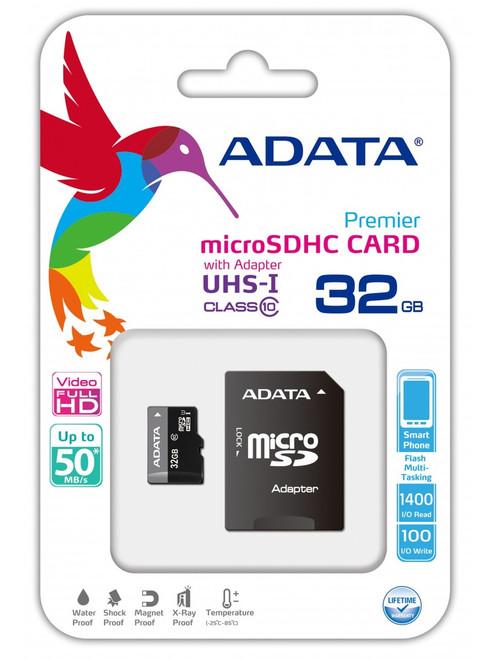 ADATA MicroSD 32 GB Class 4 RA1