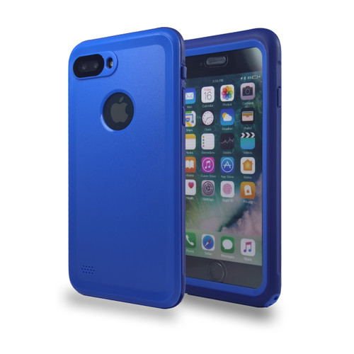 Waterproof Heavy Duty Guard iPhone For Iphone 7/8 Plus Blue
