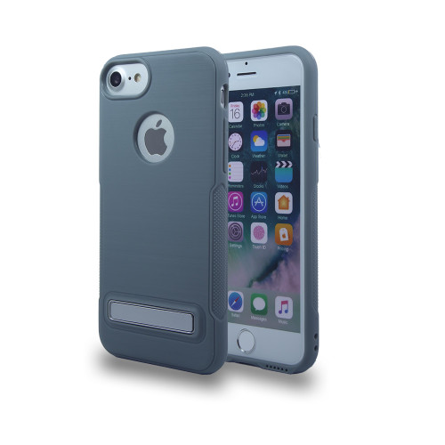 Noskid Sikin Case with Kickstand for LG LV3 Gray