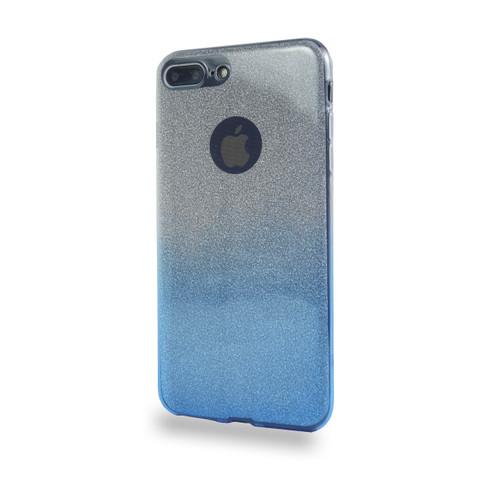 Glitter TPU Case for Samsung Galaxy J7 2016 Blue