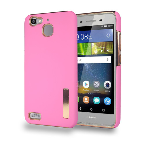 Stillvol Hybrid Case for Huawei GR3 Pink and Gold