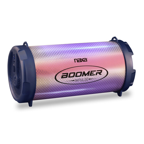 Naxa Boomer Impulse Shine BluetoothBoombox with LED Lights