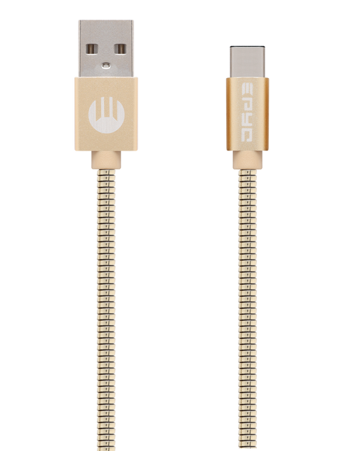 Epyc metal series usb to Type C Gold