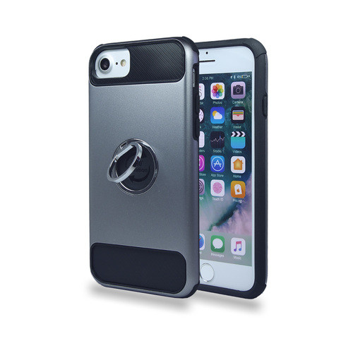 Ring case for iPhone 10 gray