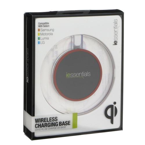 iessentials wireless charging base Qi tech