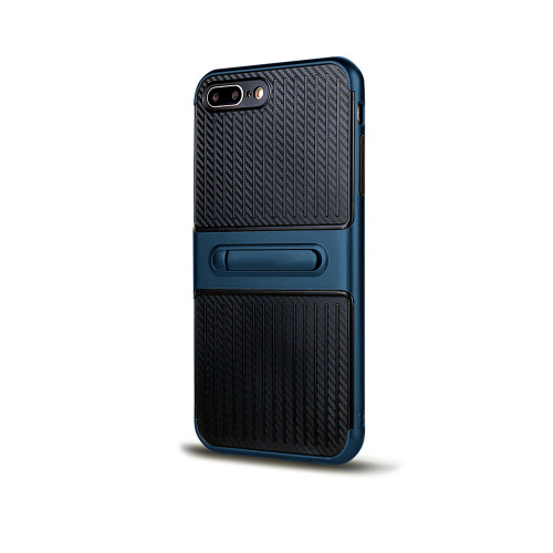 Traveler Hybrid Case with Kickstand for Note 8 Blue