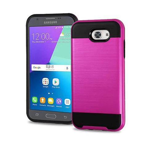 Slim jacket hybrid case for galaxy J5 PRO pink