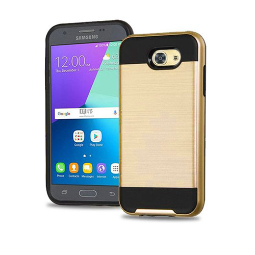 Slim jacket hybrid case for galaxy J5 PRO Gold