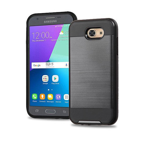 Slim jacket hybrid case for galaxy J5 PRO Black
