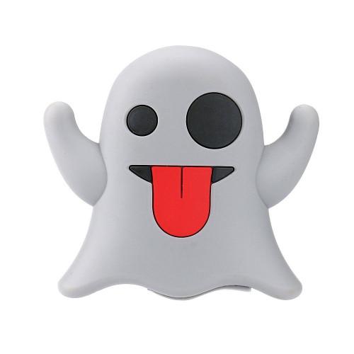 Emoji power bank ghost