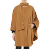 Cape with Scarf, Beige