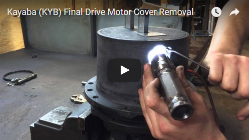 Removing a KYB Coverplate