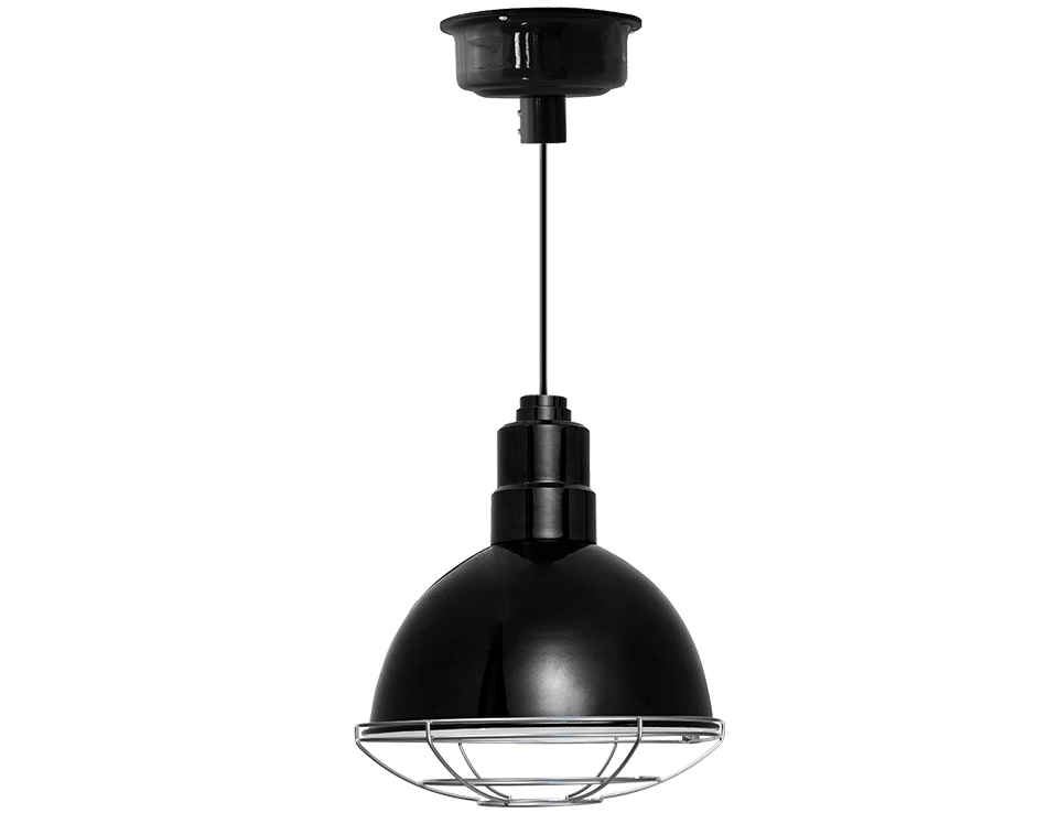 blackspot led cage barn pendant