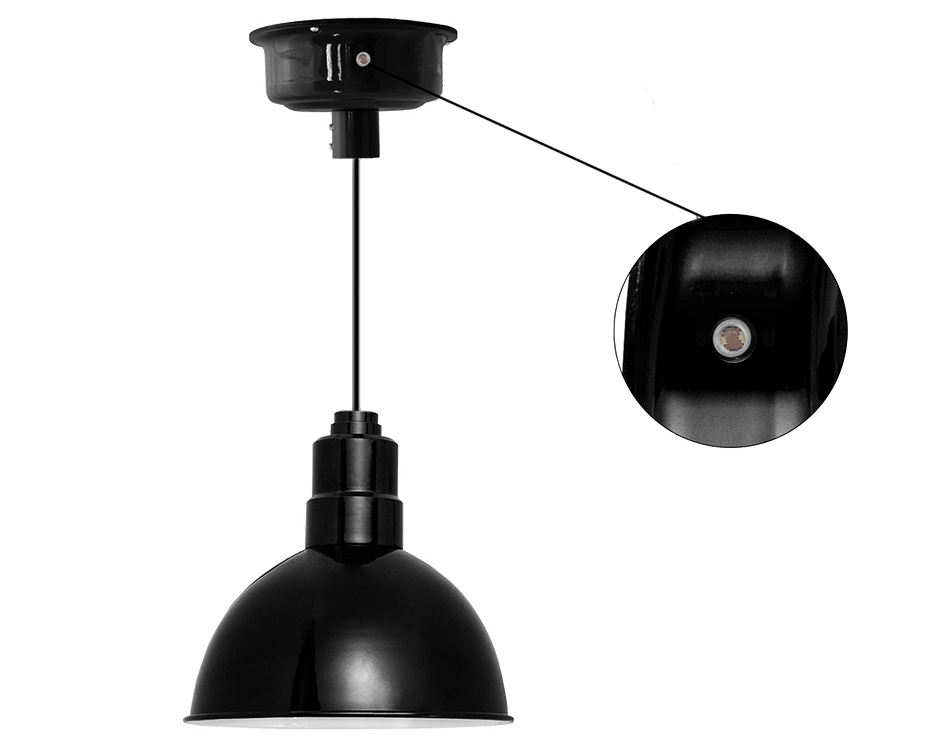 dusk to dawn photocell blackspot led barn pendant