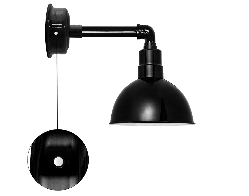 cocoweb barn  sconce light blackspot motion sensor