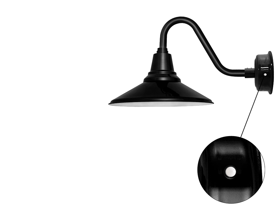 cocoweb barn light calla motion sensor