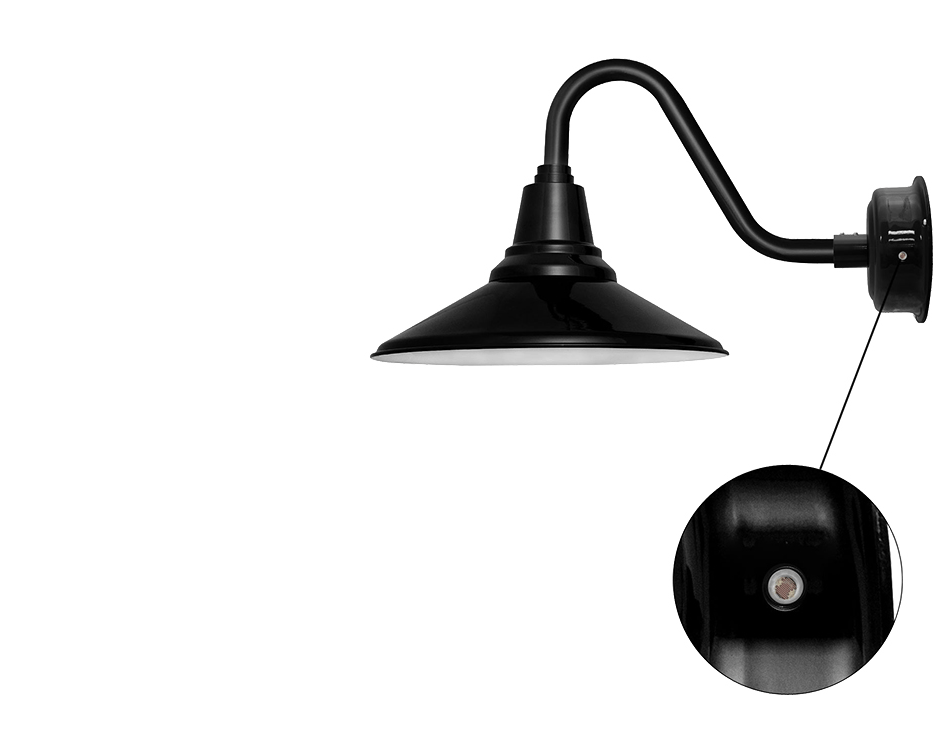 cocoweb barn light calla photo sensor