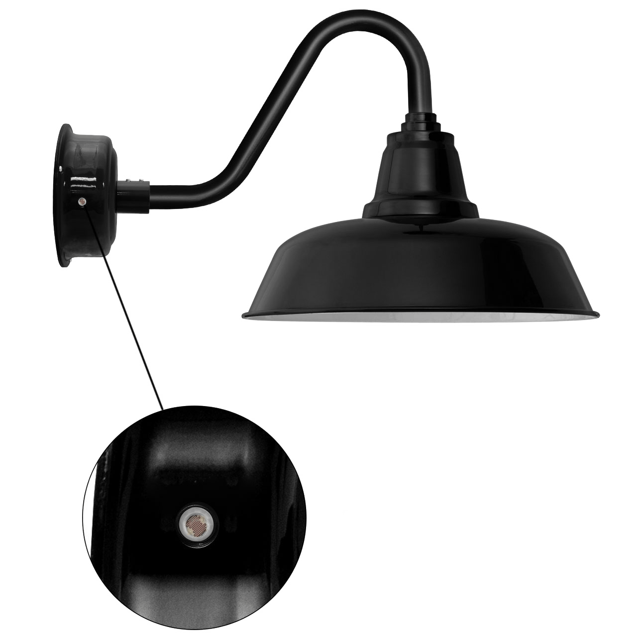 Barn Security Light: Goodyear Indoor/Outdoor LED Wall Barn Light