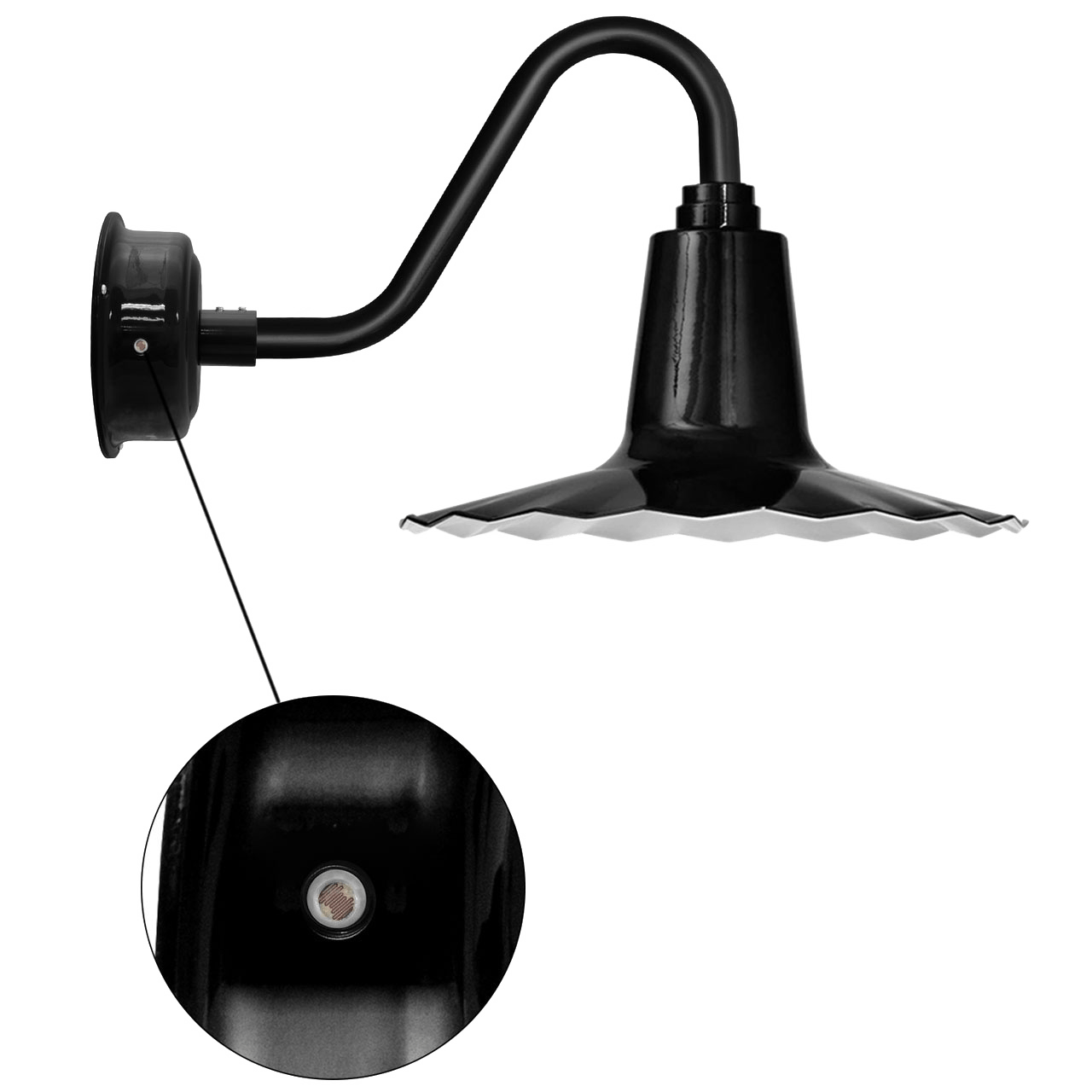 cocoweb barn light iris motion sensor