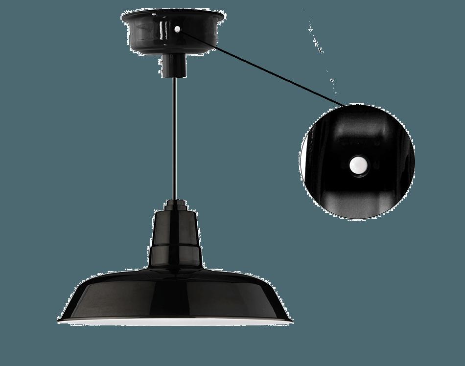 Motion sensored oldage pendant light