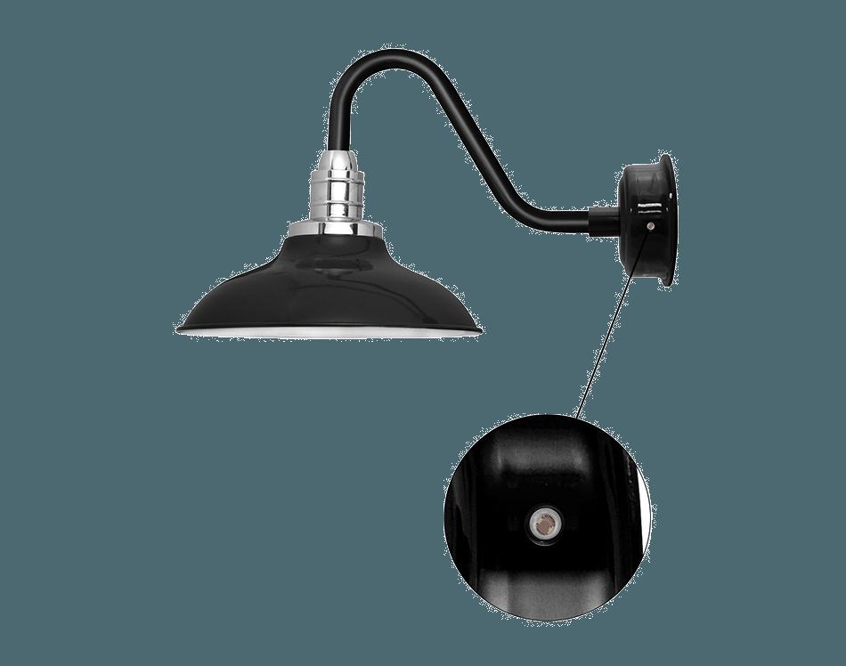 cocoweb barn light peony motion sensor