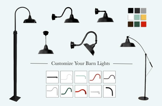 Cocoweb Customize your Barn lights