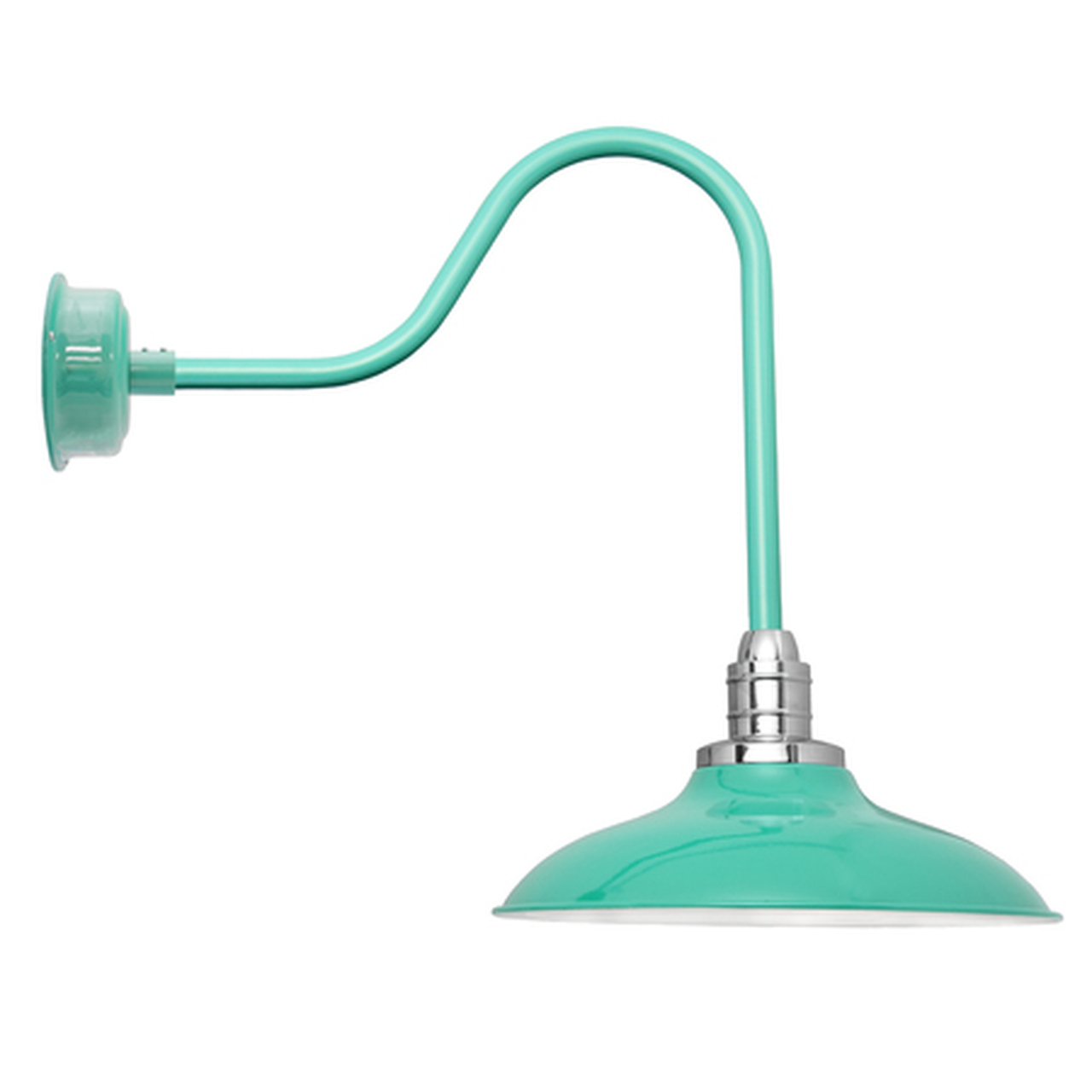 Sleek 12 Quot Peony Jade Indoor Outdoor Barn Lights Cocoweb Inc