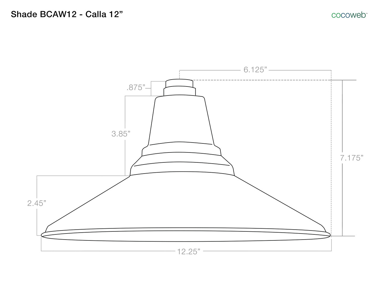 12 Calla Led High Power Floor Lamp Black Cocoweb Inc Antique Rewire Diagram Shade Dimensions For