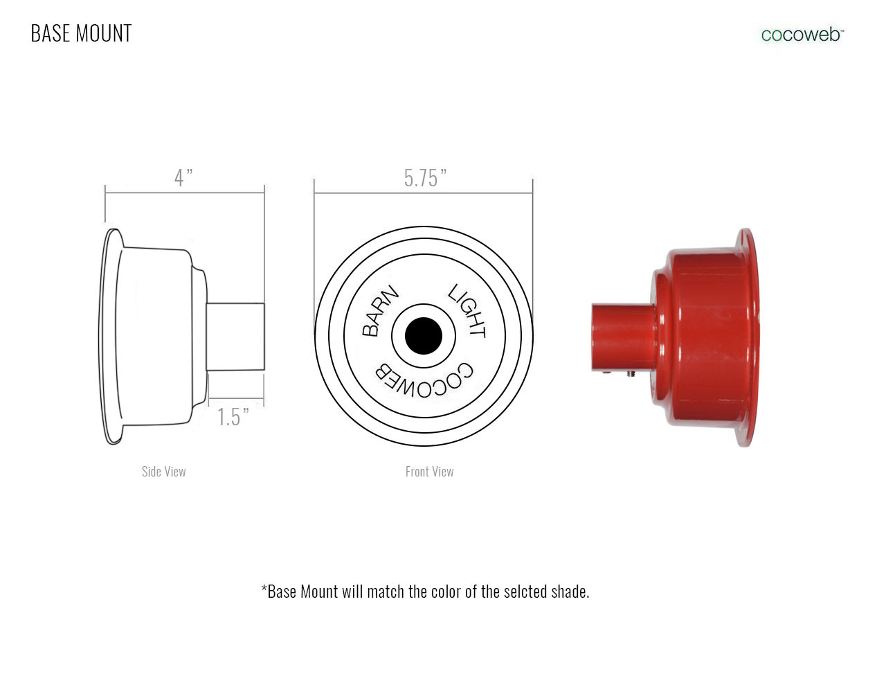 Customizable Dahlia Wall Sconce Cocoweb Inc Lamp Wiring Diagram Base