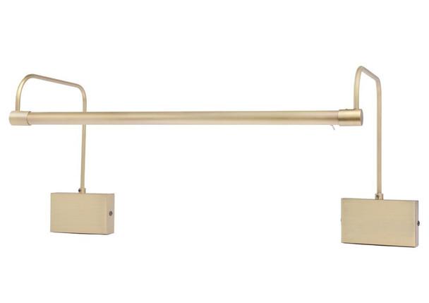 LED Tru-Slim Hardwire 21 inch Antique Brass Picture Light