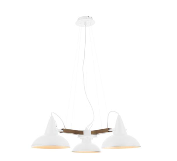 Amatrice 3 Light LED Chandelier in White