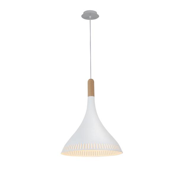 """12"""" Todi LED Pendant Light White"""