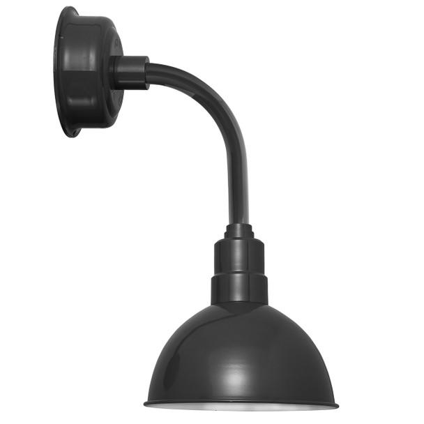 "14"" Blackspot LED Sconce Light with Trim Arm in Black"