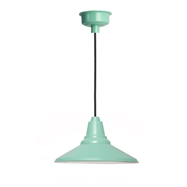 "16"" Calla LED Pendant Light in Jade"