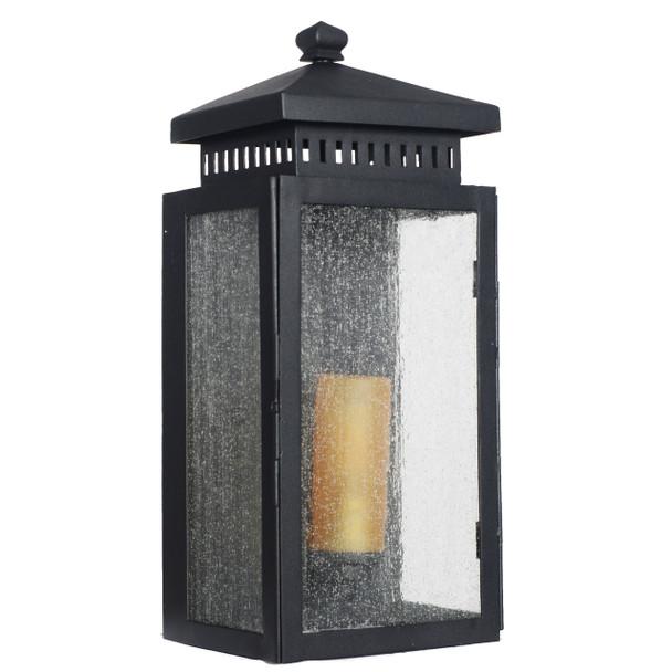 Navan Outdoor LED Wall Half Lantern - Large