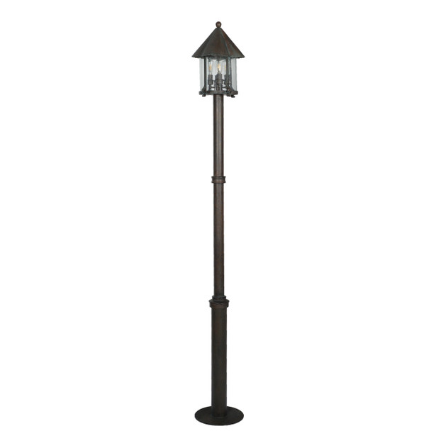Elphin 4 Light Outdoor Lamp Post