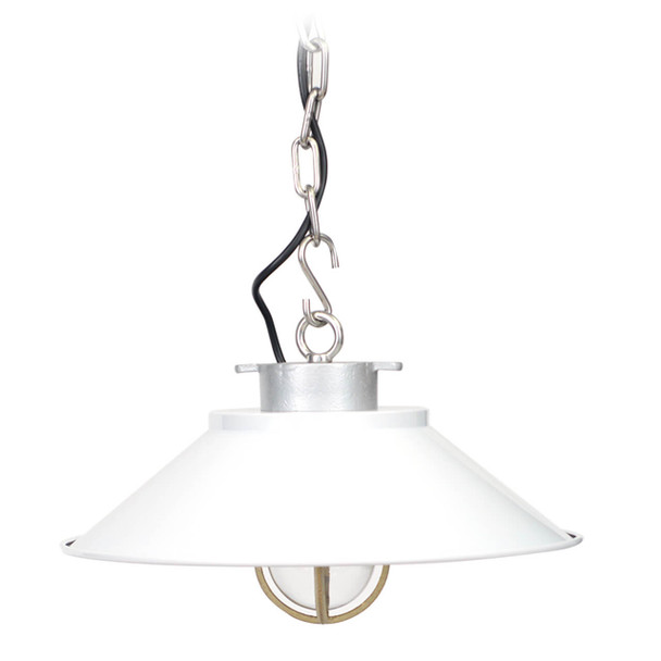 Devonport Nautical Pendant Light in White