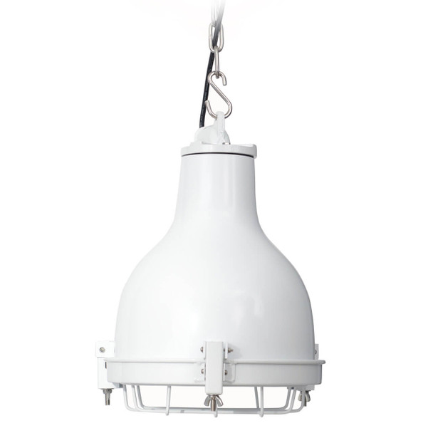 Castlemaine Nautical Pendant Light in White