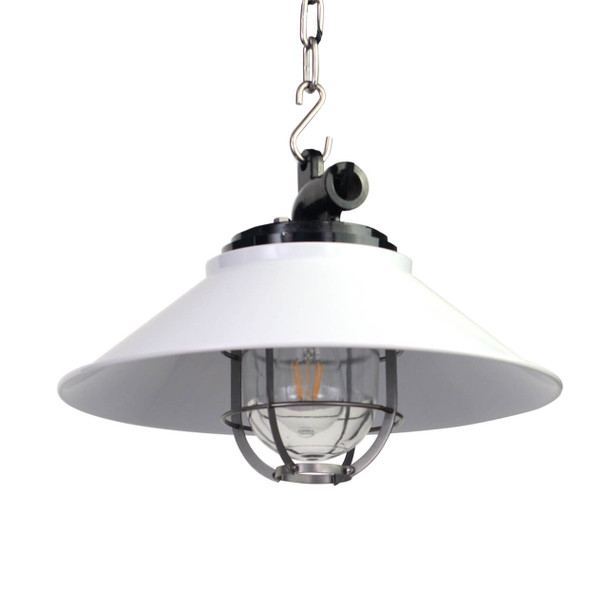 Albury Nautical Pendant Light in White