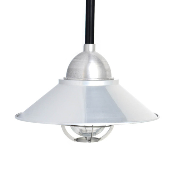 Lismore Nautical Pendant Light in Silver