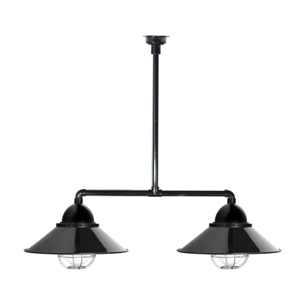 Geraldton Nautical Chandelier Light in Black