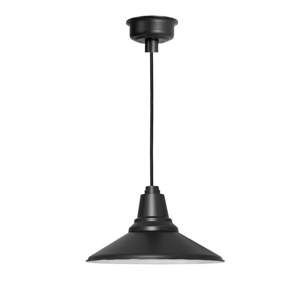 """20"""" Calla LED Barn Light - Mahogany Bronze"""
